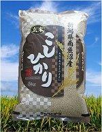 魚沼産コシヒカリ玄米 5Kg