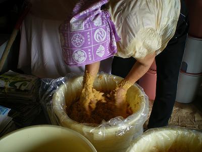 ばあちゃんの手作り味噌