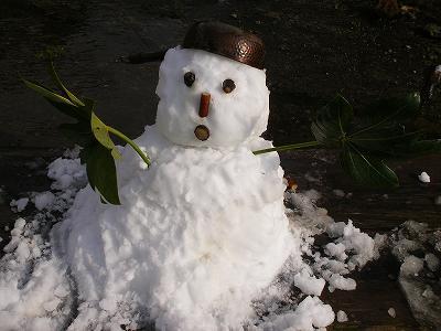 雪だるまできたぞ~