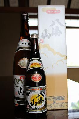 新潟清酒 「八海山」