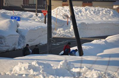 雪国の子供達