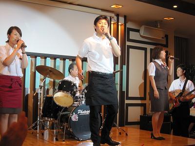 東北支援イベント・ビアホール2011