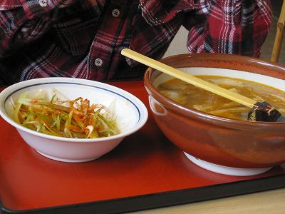 小玉屋さんの激辛坦々麺