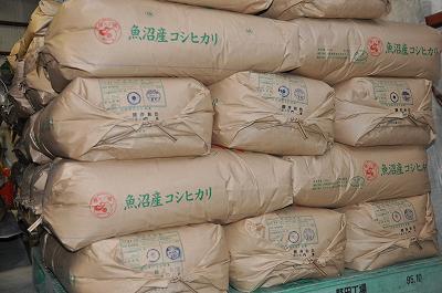 平成24年産魚沼産コシヒカリ新米