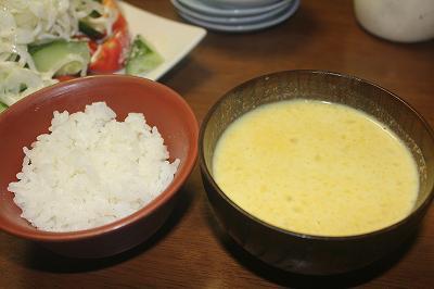 農家の夕ご飯